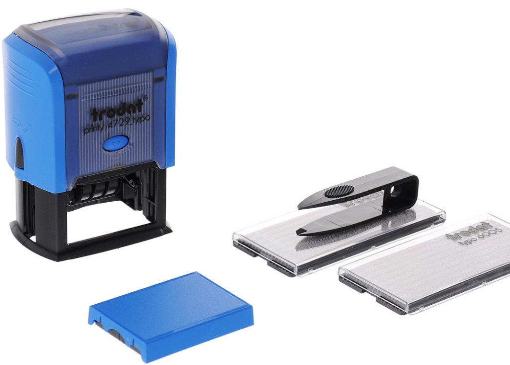 купить самонаборный штамп или печать